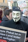 ACTA Demonstrant in Mainz
