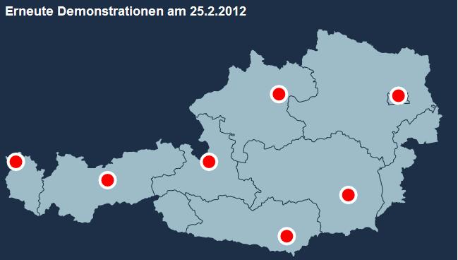 ACTA Proteste Österreich